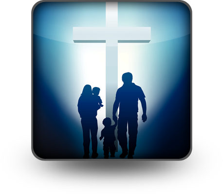 family-with-cross